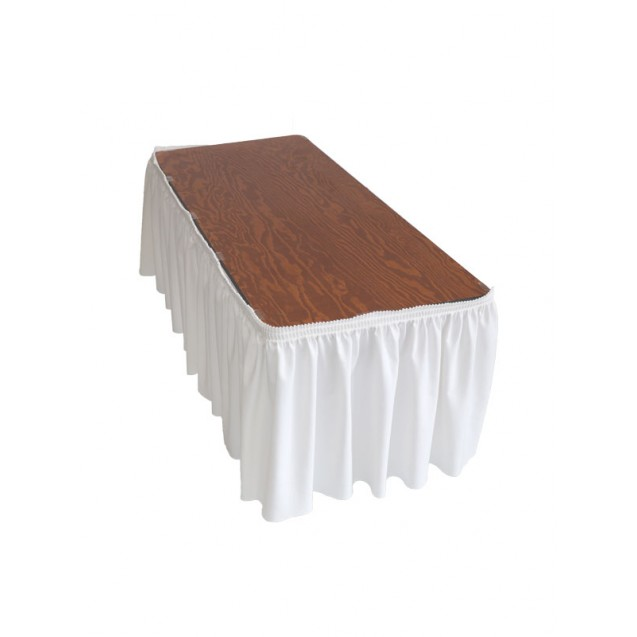 10.5in Table Skirt w/ 15 Clips