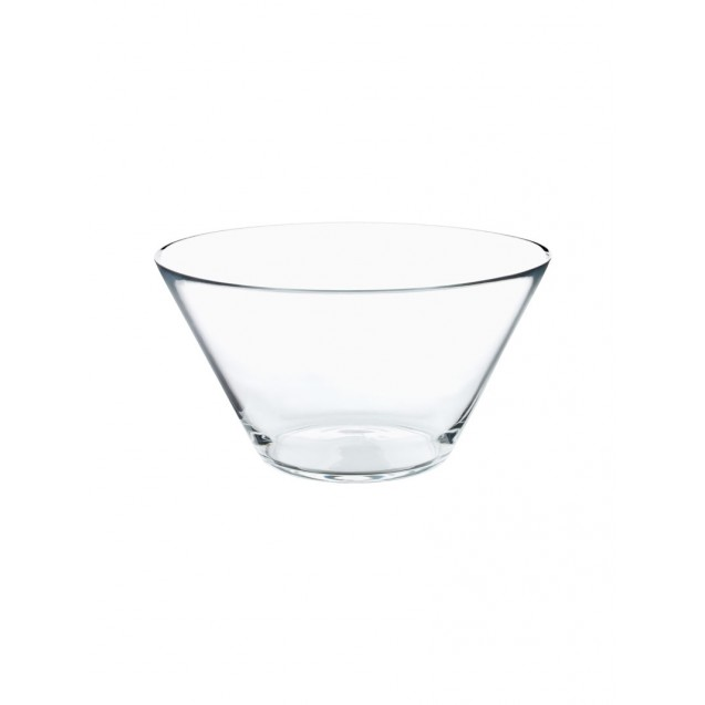 11 in Glass Salad Bowl