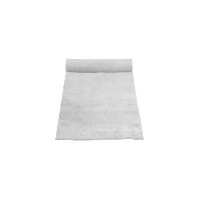 3' x 50' White Linen Aisle Runner