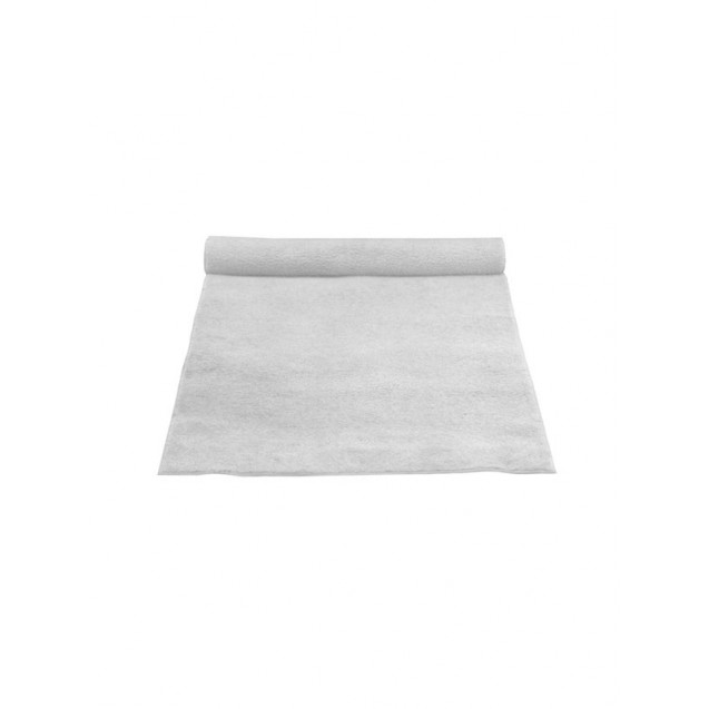 4' x 25' White Carpet Aisle Runner