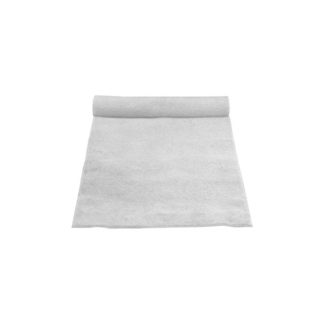 4' x 50' White Carpet Aisle Runner