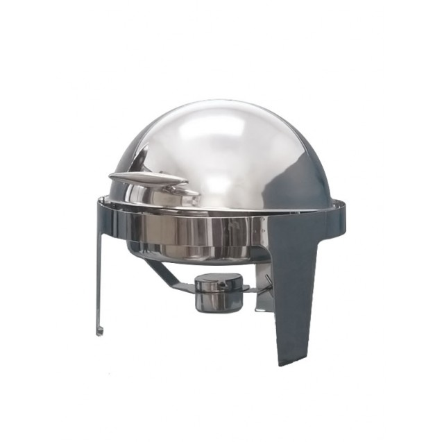7 Quart Stainless Steel Roll-Top Round