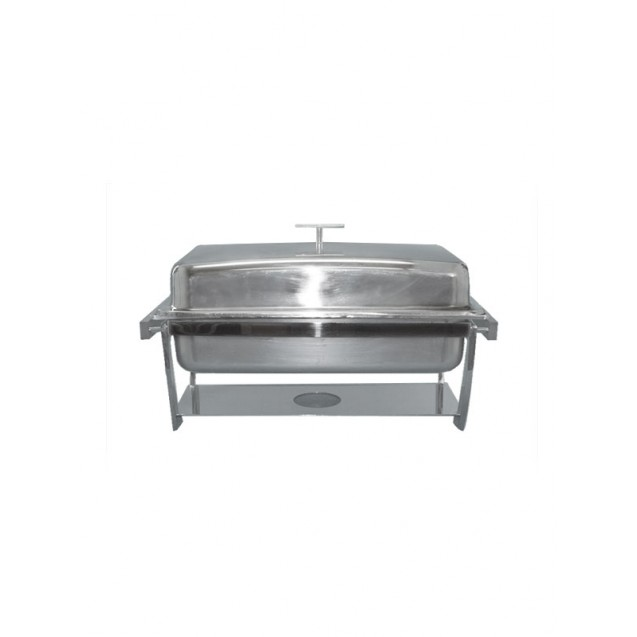 8 Quart Stainless Steel Supreme Oblong Server