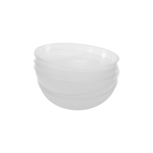 9 in Plastic Pebble Serving Bowl