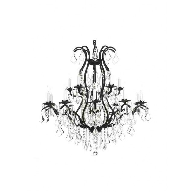 Wrought Iron Chandelier 30