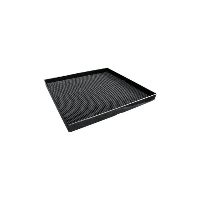 Black Square Acrylic Tray