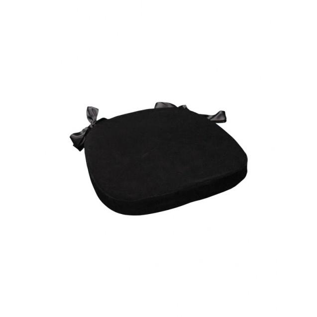 Black Velvet Chiavari Cushion