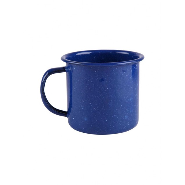 Blue Enamel Coffee Mug