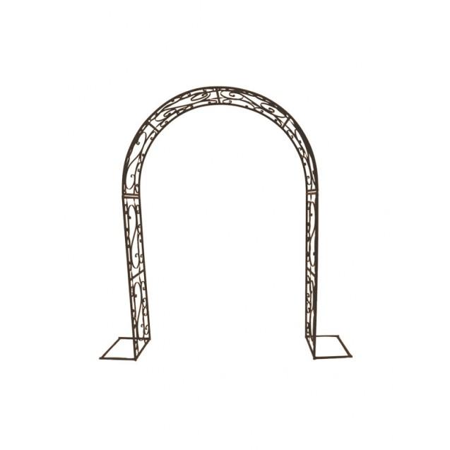 Bronze Victorian Metal Arch