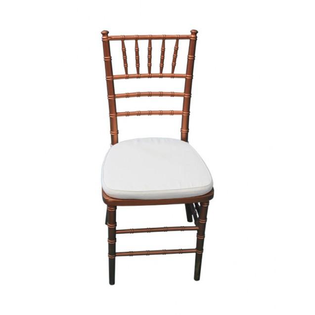 Copper Chiavari Chair w /Cushion