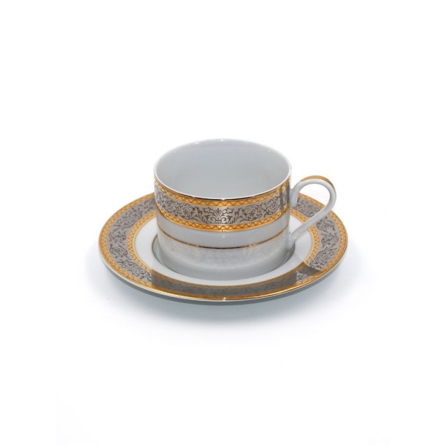 Embassy China Coffee Cup w/ Saucer
