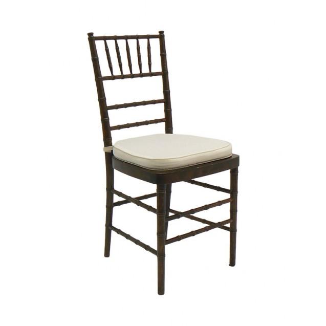Fruitwood Chiavari Chair w/ Cushion