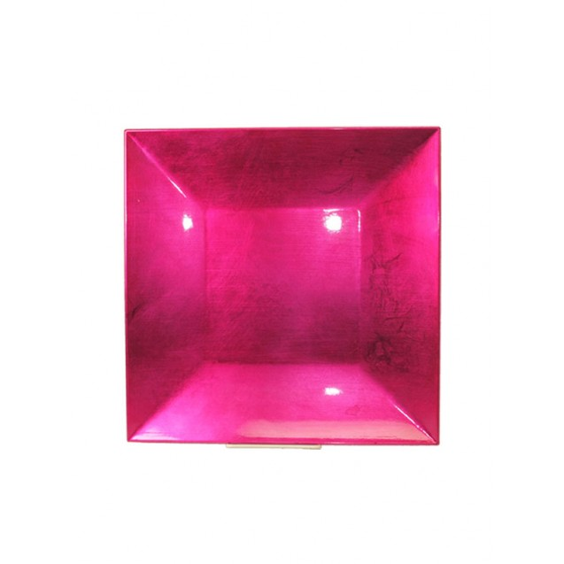 Fuchsia Square Charger 12 in
