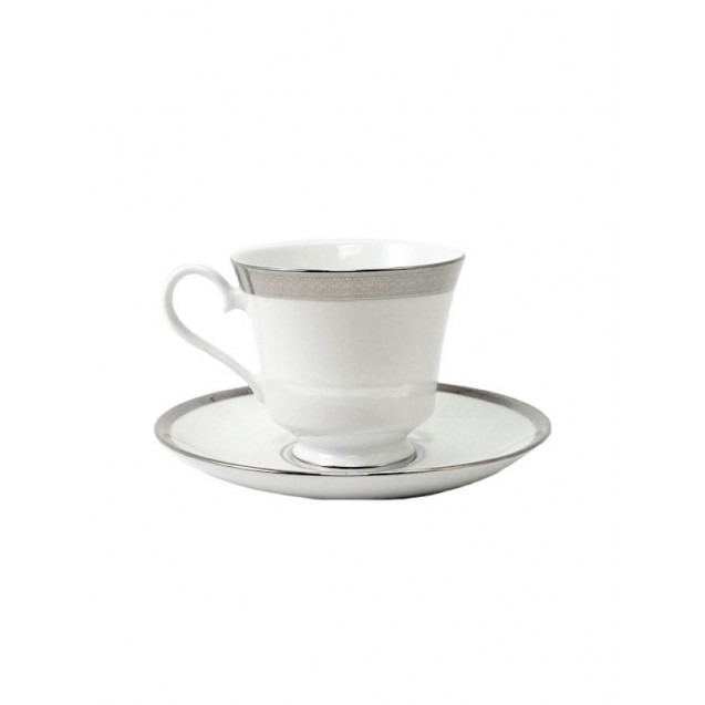 Grandeur China Coffee Cup w/ Saucer