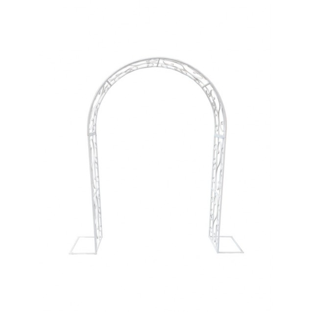 Off White Victorian Metal Arch