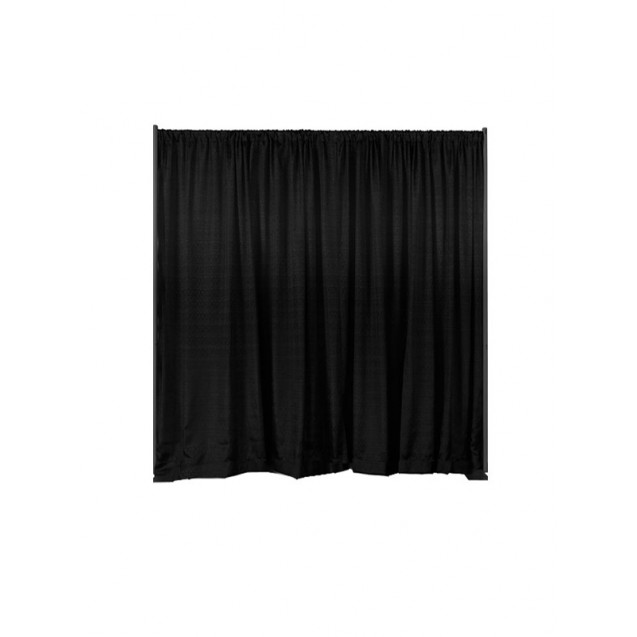 Pipe and Drape- Black, Blue,or Ivory 8' High , Per ft.