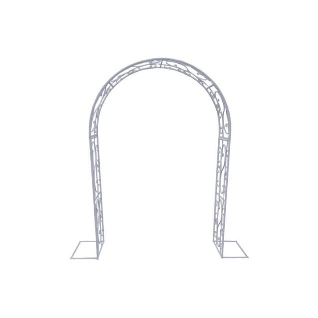 Silver Victorian Metal Arch