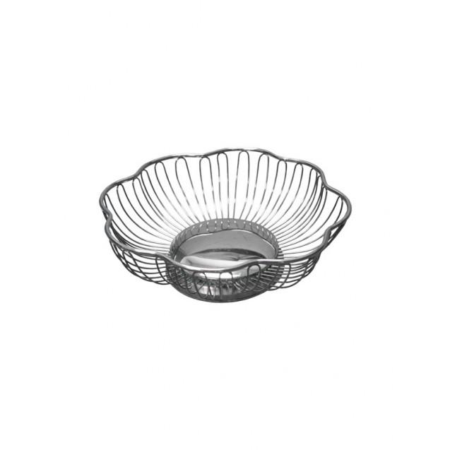 Silver Wire Bread Basket