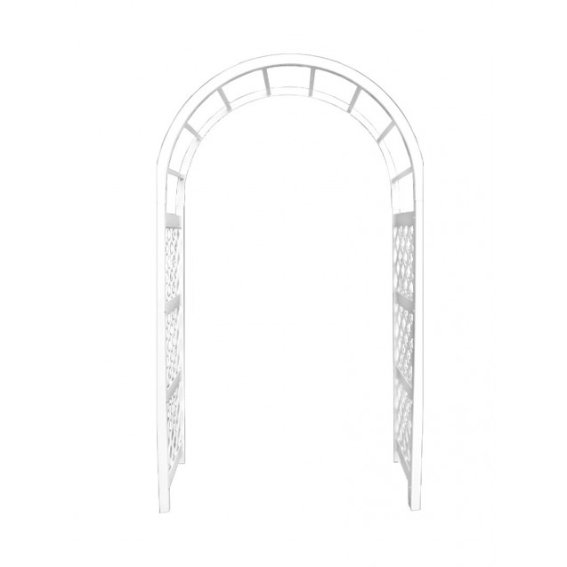White Resin Arch