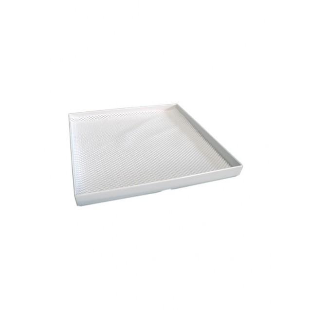 White Square Acrylic Tray