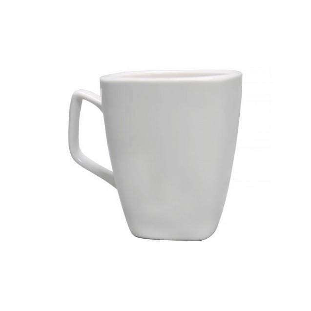 White Square Mug